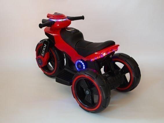 Электромотоцикл Y-Maxi YM 198 Police (кресло кожа, амортизация, подсветка, музыка, скорость 6-7 км\ч)