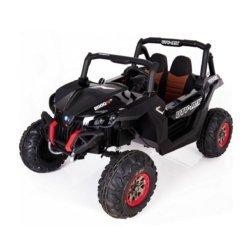 Электромобиль Buggy XMX603 черный (2х местный, полный привод, колеса резина, кресло кожа, пульт, музыка)