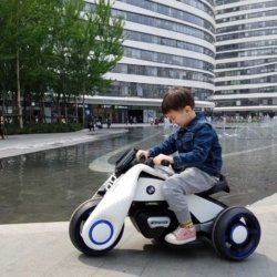 Электромотоцикл BMW Vision Next 100 - BQD-6188-WHITE
